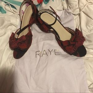 New! Raye Sandals with Ankle Strap
